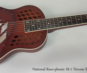 National Reso-phonic M-1 TriCone Squareneck