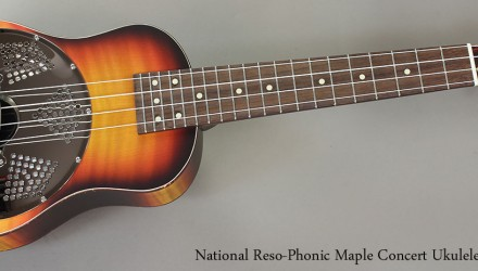 National-Reso-Phonic-Maple-Concert-Ukulele-Full-Front-VIew