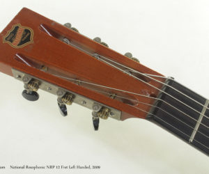 SOLD ! !National Resophonic NRP 12 Fret Left Handed (consignment) 2009