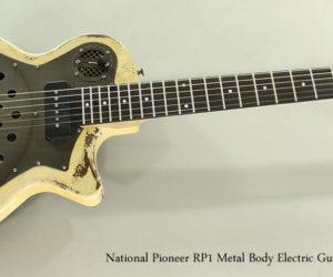 National Pioneer RP1 Metal Body Acoustic-Electric Guitar