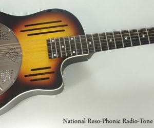 National Reso-Phonic RadioTone Bendaway