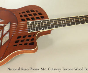 National Reso-Phonic M-1 Cutaway Tricone