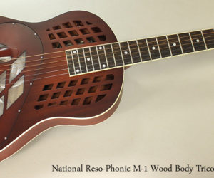 National Reso-Phonic M-1 Tricone Wood Body