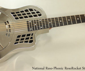 National Reso-Phonic ResoRocket Steel Guitar