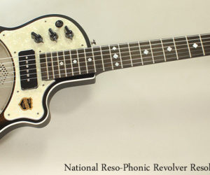 National Reso-Phonic Revolver Resolectric Guitar