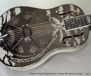 National Style 0 Squareneck Custom Resophonic Guitar