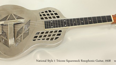 National-Style-1-Tricone-Squareneck-Resophonic-Guitar-1928-Full-Front-VIew