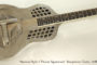 1928 National Style 2 Tricone Squareneck Resophonic Guitar  SOLD