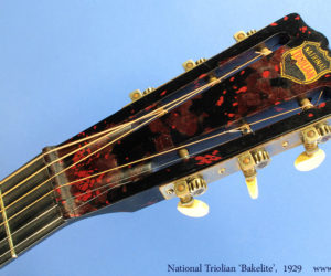 1929 Bakelite Neck National Triolian (consignment)  SOLD