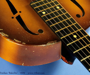 National Triolian with Bakelite Neck 1929 (consignment) SOLD