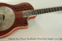 National Reso-Phonic ResoRocket Wood Body Single Cone Guitar