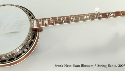Frank-Neat-Bean-Blossom-5-String-Banjo-2003-Full-Front-View