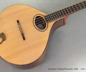 2003 Lawrence Nyberg Bouzouki (consignment)  SOLD