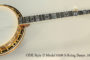 1980 ODE Style D Model 6500 5-String Banjo  SOLD