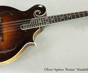 2015 Oliver Apitius Rosine Mandolin  SOLD