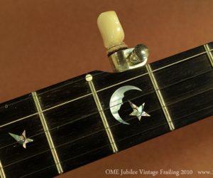 OME Vintage Jubilee Open Back Frailing Banjo 2010  SOLD