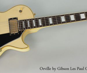 1990 Orville by Gibson Les Paul Custom (SOLD)