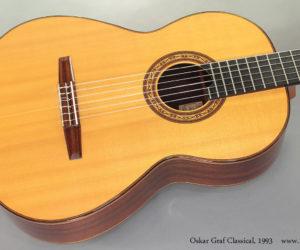 1993 Oskar Graf Classical (consignment)  SOLD