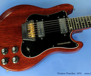 Ovation Preacher, 1979 (consignment)  SOLD