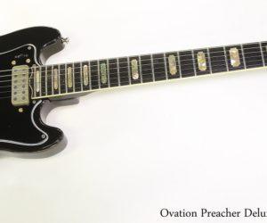 Ovation Preacher Deluxe 1282 Black, 1978