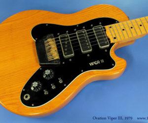 Ovation Viper III, 1979   SOLD