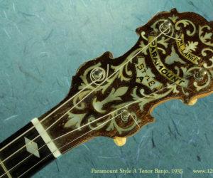 Paramount Style A Tenor Banjo, 1935 (consignment) No Longer Available