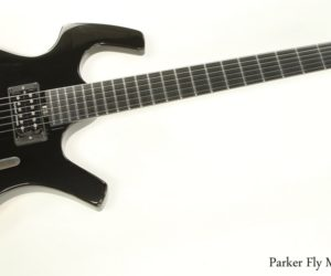 ❌SOLD❌  Parker Fly Mojo Solidbody Electric Guitar Black 2009