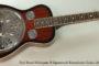 2011 Paul Beard Model R Squareneck Resophonic Guitar  SOLD