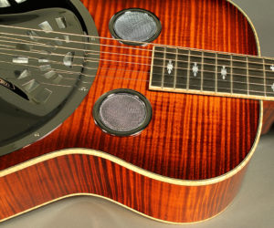 Paul Beard Model R Roundneck Custom Flame Maple Resonator