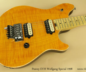 SOLD ! 1998 Peavey EVH Wolfgang Special (consignment)