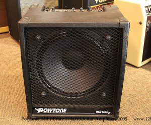 SOLD!!! 2005 Polytone Mini-Brute II Jazz Guitar Amplifier