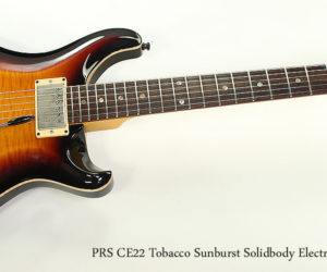 SOLD!!! 1999 PRS CE22 Tobacco Sunburst Solidbody Electric Guitar