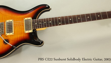 PRS-CE22-Sunburst-Solidbody-Electric-Guitar-2003-Full-Front-VIew