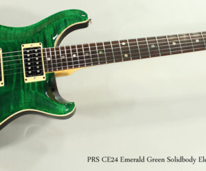 1998 PRS CE24 Emerald Green Solidbody Electric Guitar (REDUCED)