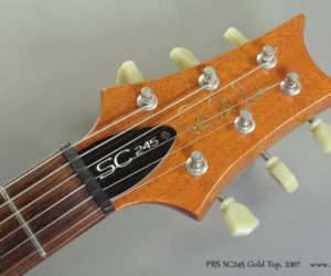 2007 PRS SC245 Gold Top (consignment) SOLD