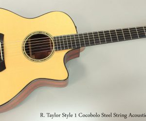 2006 R. Taylor Style 1 Cocobolo  SOLD