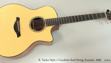 R.-Taylor-Style-1-Cocobolo-Steel-String-Acoustic-2006-Full-Front-View