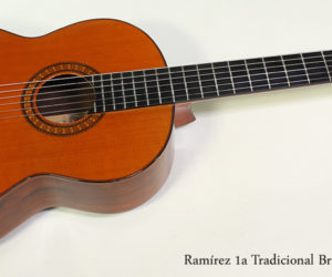 SOLD! 1972 Ramirez 1a Tradicional Brazilian Classical Guitar, 1972