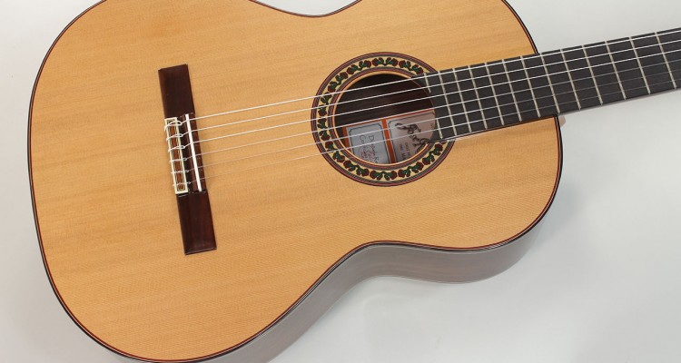 Ramirez-4NE-Model-Classical-Guitar-Top