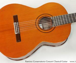 Ramírez Conservatorio Concert Classical