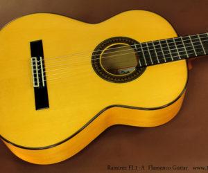 Ramírez FL1 Flamenco Model Guitarras de Estudio