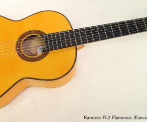 Ramirez FL2 Flamenco Blanca Guitar, 2006