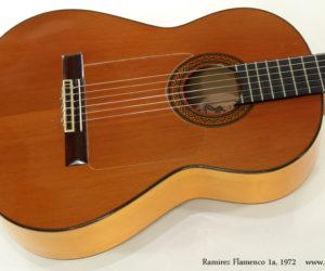 1972 Ramirez Flamenco 1a Guitar  SOLD