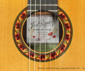 Ramírez Guitarra del Tiempo