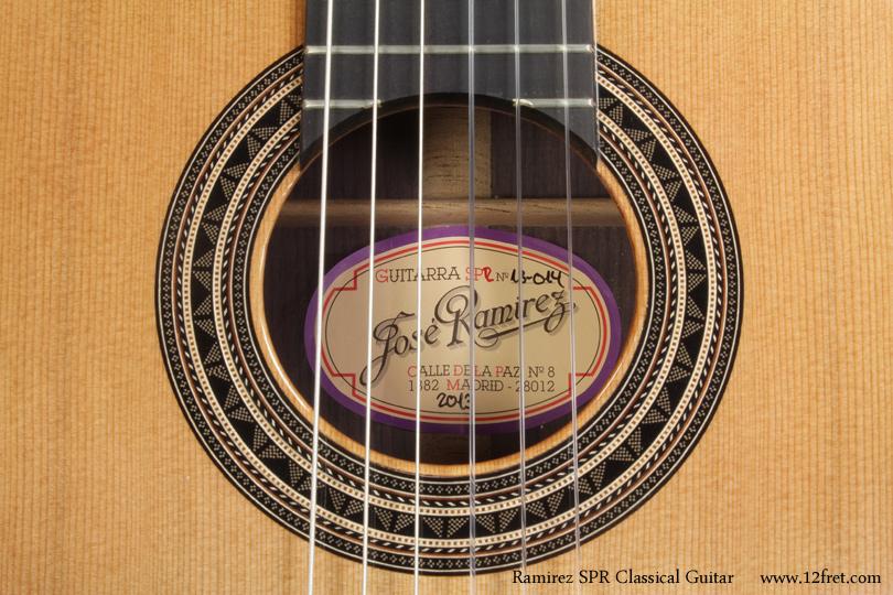 Ramirez Spr Classical Guitar Www 12fret Com