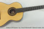 2012 Ramirez SPR Spruce Top 'Semi Professional' (SOLD)
