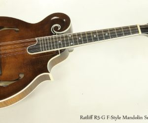 SOLD!!! Ratliff R5-G F-Style Mandolin Sunburst, 2015