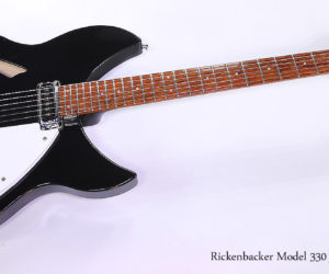 SOLD!!! 1999 Rickenbacker Model 330 Jetglo Thinline Electric Guitar