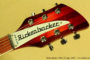 Rickenbacker 360-6 Fireglo 2005 (consignment) SOLD