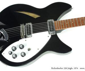 1974 Rickenbacker 330 Jetglo (consignment) SOLD